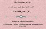 إعلان عن تنظيم ندوة دولية: البلدان المغاربية ودول إفريقيا جنوب الصحراء في الحرب العظمى 1914-1918.