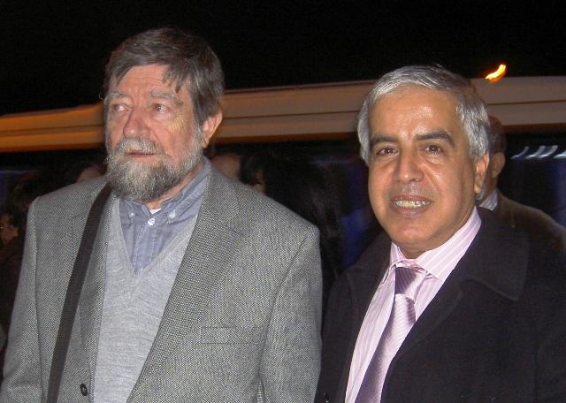 L'historien BERNARD   ROSEMBERGER et Mr Othman Mansouri
